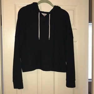Mossimo Supply cropped lightweight hoodie